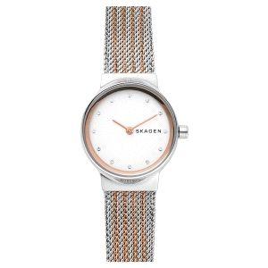Reloj Mujer Freja bicolor oro rosa