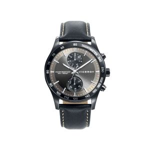 Reloj Hombre Heat piel negro