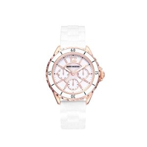 Reloj Mujer Multifunción blanco