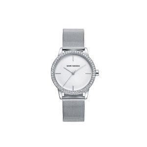 Reloj Mujer plateado con circonitas
