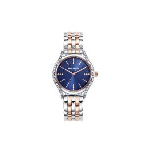 Reloj Mujer esfera azul y bicolor
