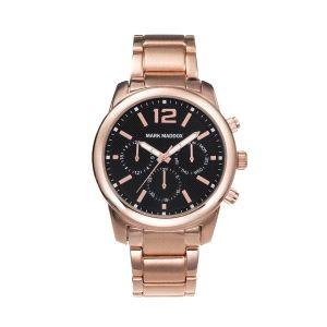 Reloj Hombre Aviator multifunción oro rosa