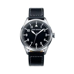 Reloj Hombre clásico de piel negro