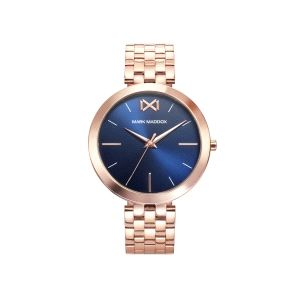 Reloj Mujer Alfama de azul y oro rosa