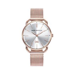Reloj Mujer Midtown de malla oro rosa