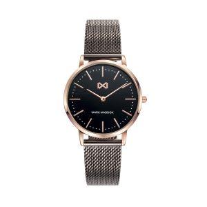 Reloj Greenwich Mujer negro bicolor