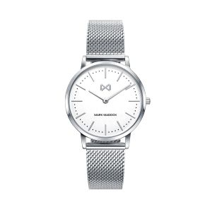 Reloj Greenwich Mujer de acero plateado