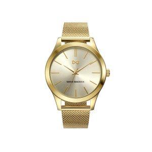 Reloj Marais Mujer acero de baño oro