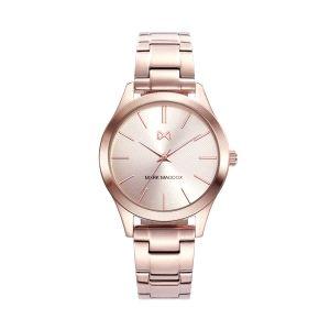 Reloj Marais Mujer acero con baño oro rosa