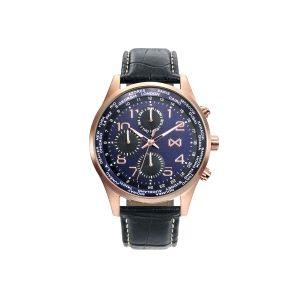 Reloj Mission para Hombre azul y de piel