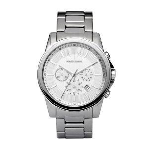 Reloj Outerbanks de hombre plateado