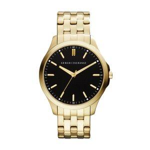 Reloj Hombre clasico dorado-Hampton