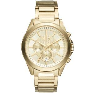 Reloj Hombre dorado crono-Drexler